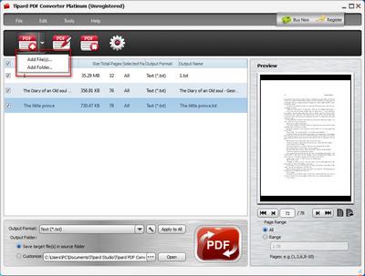 Agregar PDF al programa