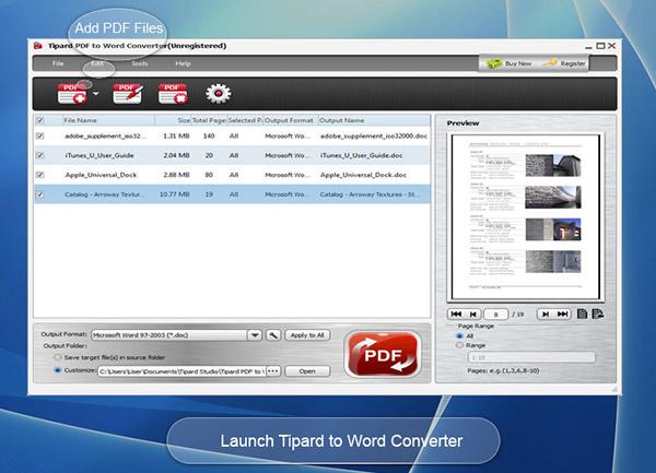 "Tipard PDF to Word Converter - 将 PDF 文档转换为 Word 文档丨""反""斗限免"
