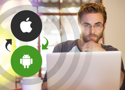 how to move contacts from android to ios