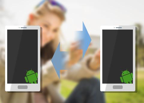 Přenos dat mezi Androidem a Androidem