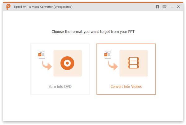 Convert PowerPoint to video/DVD/ISO file with excellent quality and fast speed.