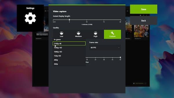 NVIDIA ابدأ تسجيل اللعب