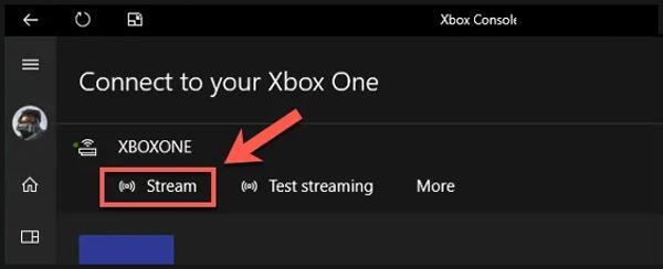 Streamujte hraní hry Xbox One na PC