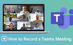 Zaznamenávejte schůzky Microsoft Teams