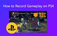 سجل فيديو عن طريقة اللعب على PS4
