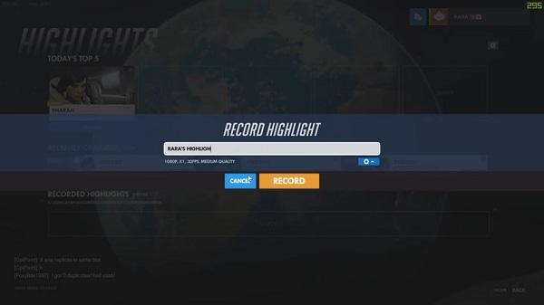 تنزيل سجل Overwatch Highlights