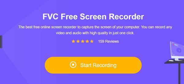 مسجل شاشة مجاني FVC