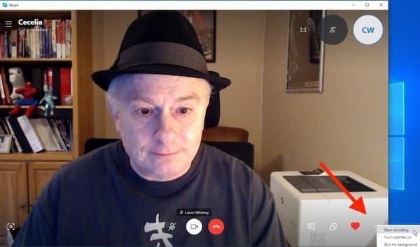 Start Skype Record
