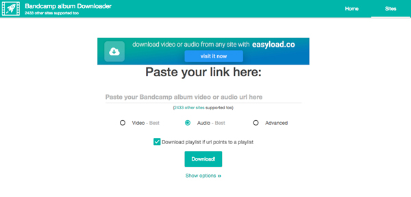 3 Best Ways to Download Music from Bandcamp Downloader