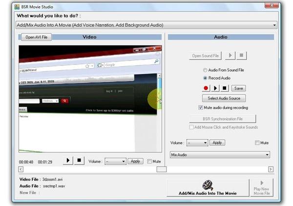 Enregistreur d'écran BSR
