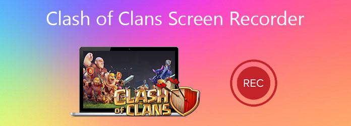مسجل شاشة Clash of Clans