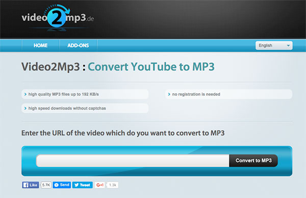 Top 5 Similar Websites As Flvto MP3 to Convert YouTube to MP3