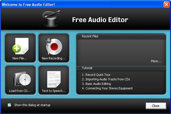 Editeur Auido gratuit