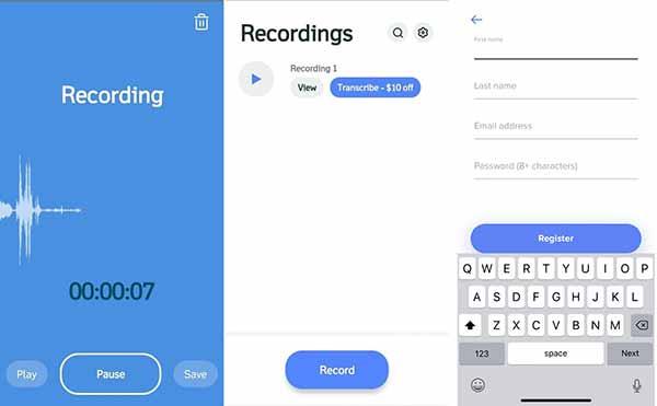 Rev Audio & Voice Recorder