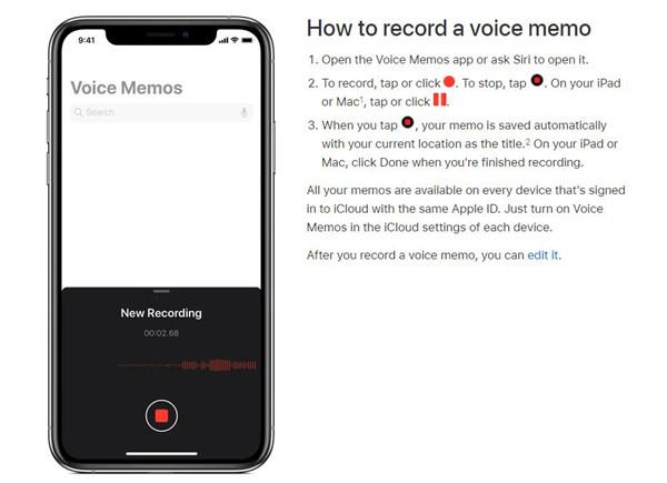 iPhone Hlasové poznámky Úvod