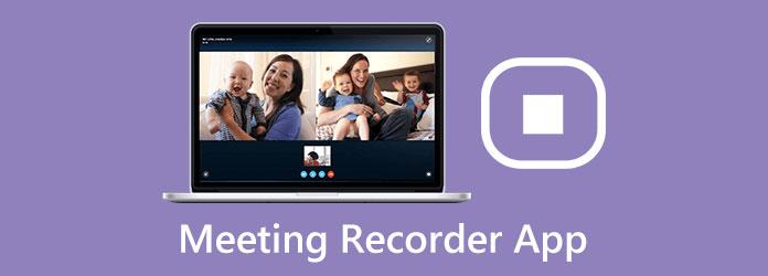Aplikace pro záznam schůzky