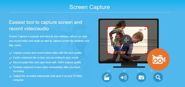 Tipard Screen Capture Úvod
