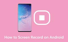 Bedste Android Screen Captures til at tage screenshot på Android Phone