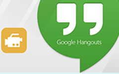 Google Hangout'u kaydet