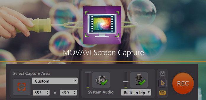 Movavi Screen Capture vaihtoehtoiset tallentimet