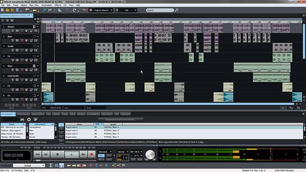 Samplitudeミュージック・スタジオ