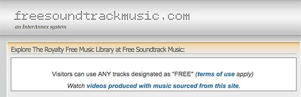 Gratis Soundtrack-musik