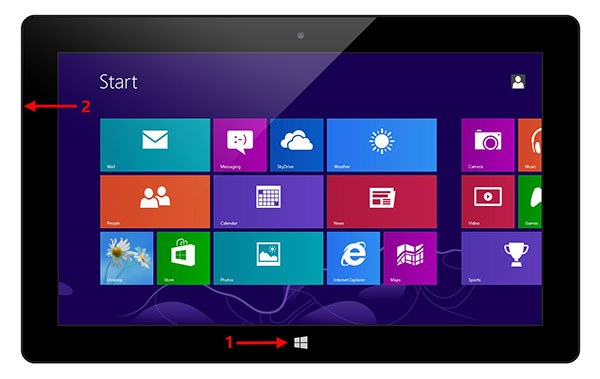 Fai uno screenshot su Surface Tablets