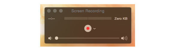 QuickTime Screen Recording med kamera