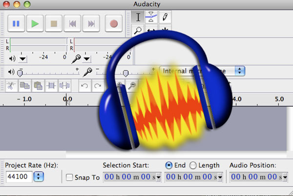 Capture Music by Audacity