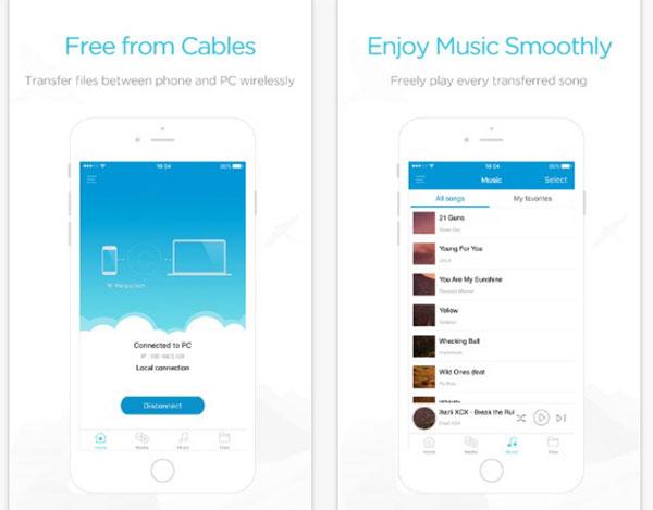 AirMore - záznam FaceTime volá bezdrátově na iPhone