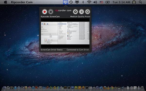 Gravar tela do Mac