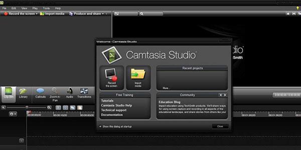 Camtasia Studioの
