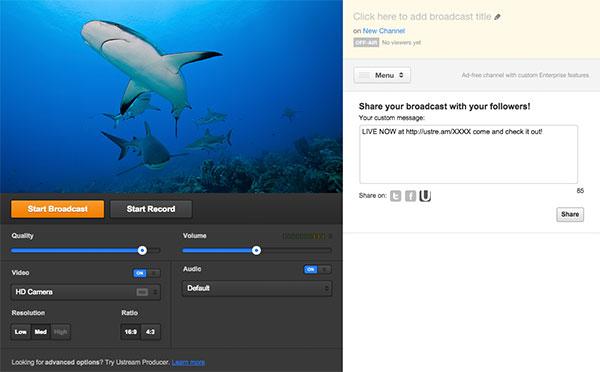 Ustream internetes műsorszolgáltató