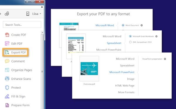 PDF à Word
