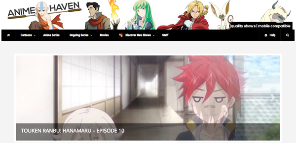 top sites to download anime series