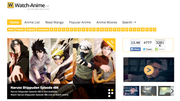 best anime websites for anime episodes watching and downloading