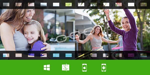 Kombiner videoer med videokombinerer