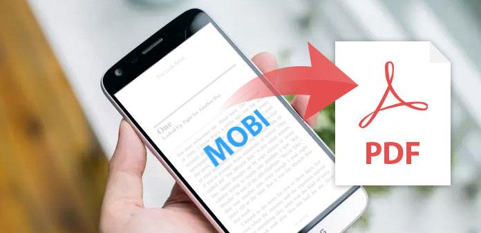MOBI PDF-muotoon