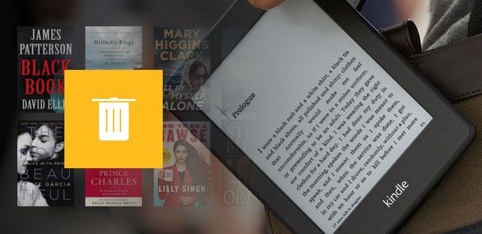 Smazat knihy z Kindle