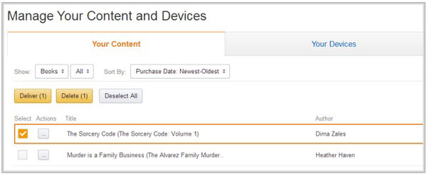 How to Delete Books from Your Kindle and Kindle APP – The