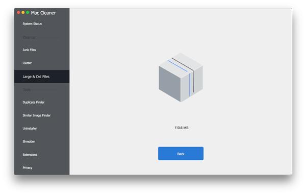 Supprimer les fichiers endommagés