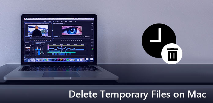 Elimina file temporanei su Mac