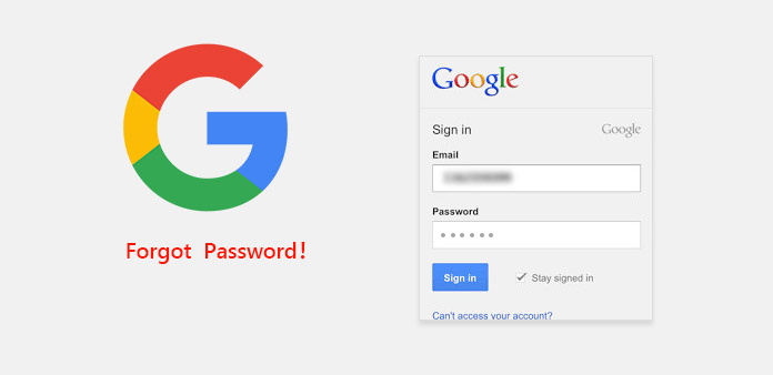 Glemt Google Password