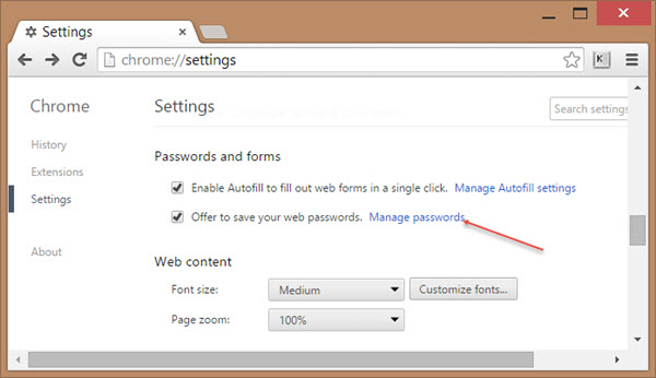 How to Recover Passwords Saved in Google Chrome