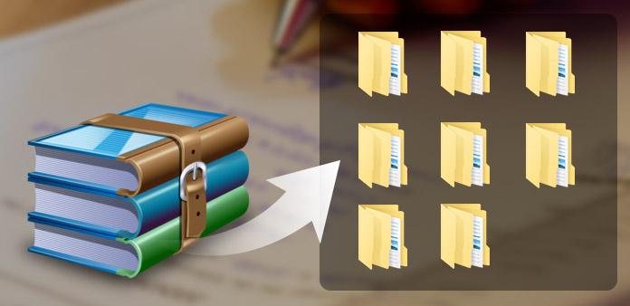 Как открыть файлы RAR