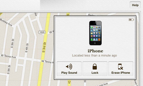 Odemkněte iPhone přes Find My iPhone