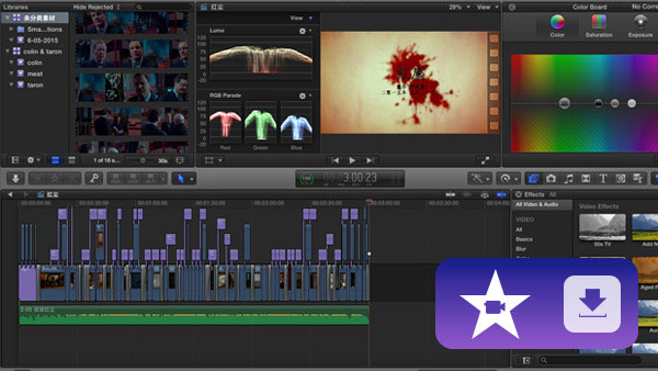 iMovie downloade