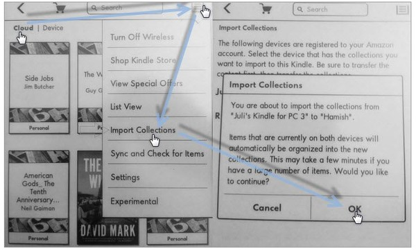 Organize Kindle Collections on Mac/PC