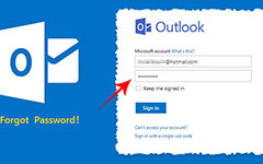 Забыли пароль для Outlook