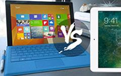 iPad Pro VS Felület Pro 3